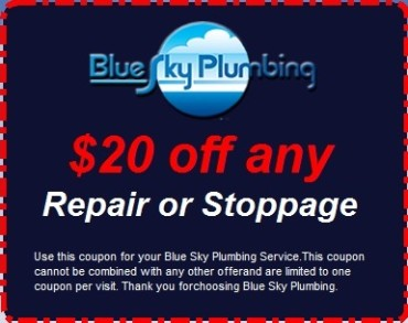 $20 Off any Repair or Stoppage
