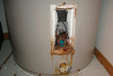 Rusted Water Heater